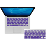 KB Covers Purple Checkerboard Keyboard Cover