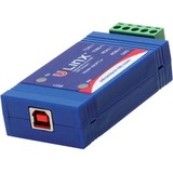 USB to Isolated 422/485 w/Plug Terminal Block and LEDs - B+B SmartWorx