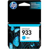 HP 933 | Ink Cartridge | Cyan | Works with HP OfficeJet 6100, 6600, 6700, 7110, 7510, 7600 Series | CN058AN