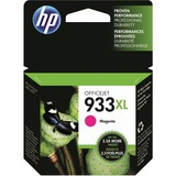 HP 933XL   Ink Cartridge   Magenta   Works with HP OfficeJet 6100, 6600, 6700, 7110, 7510, 7600 Series   CN055AN