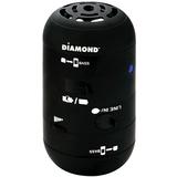 DIAMOND Mini Rocker MSPBT200 Speaker System - 4 W RMS - Wireless Speaker(s) - Black