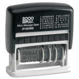 COSCO Micro Message Dater Stamp