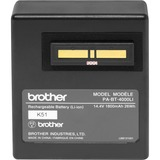 Brother Mobile Printer Battery - For Printer - Battery Rechargeable - 14.4 V DC - 1800 mAh - Lithium Ion (Li-Ion) - 1