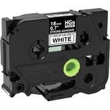 Brother, HGeS2415PK, Label Tape Cartridge, 26-1/5ftx0.70in, PK5