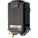 Minuteman SlimLine MMS130RC 3-Outlets Surge Suppressor