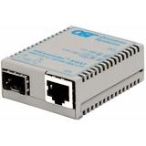 miConverter/s 10/100/1000 Gigabit Ethernet Fiber Media Converter RJ45 SFP