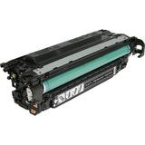 V7 Black Toner Cartridge for HP Color LaserJet CM3530 MFP, CM3530FS MFP, CP3525DN, CP3525N, CP3525X CE250A 5K YLD