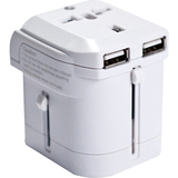 I/OMagic World Travel Power Adapter (White)