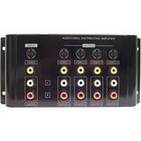 Calrad Electronics 1X4 Composite/S-Video/Analog Audio Distribution Amplifier
