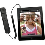 CTA Digital Radiation Safe Telephone Handset for iPad & iPhone (BLACK)
