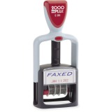 Consolidated Stamp Cosco 2-color Self-inking Word Dater