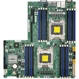 Supermicro Dual Socket R Up to 512 GB DDR3 Intel i350 Dual Port GBE LAN Sever Motherboard X9DRW-IF-B