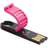 Verbatim 8GB Micro Plus USB Flash Drive - Hot Pink