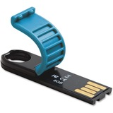 Verbatim 8GB Micro Plus USB Flash Drive - Caribbean Blue