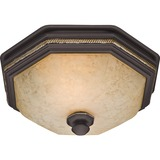 Hunter Fan Belle Meade Bathroom Fan and Light with New Bronze Finish (82023)