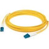 AddOn 10m LC (Male) to LC (Male) Yellow OS2 Duplex Fiber OFNR (Riser-Rated) Patch Cable