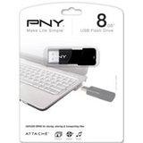 PNY 8GB Attaché USB 2.0 Flash Drive