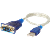 Sabrent USB 2.0 to Serial DB9 Male (9 Pin) RS232 Cable Adapter 1 Ft Cable