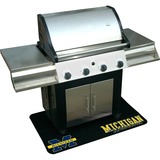 Mr. Bar.B.Q Michigan Wolverines Grill Mat