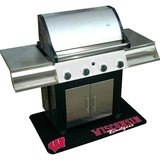 Mr. Bar.B.Q Wisconsin Badgers Grill Mat