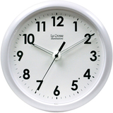 La Crosse Technology 403-310 10 inch Wall Clock with Glowing Hands