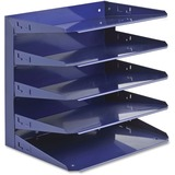 MMF 5 -Tier Letter Size Horizontal Organizer