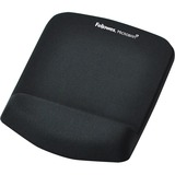 """Fellowes PlushTouch Mouse Pad/Wrist Rest with FoamFusion Technology, Black (9252001), 9""""7.5"""""""
