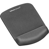 Fellowes PlushTouch Mouse Pad/Wrist Rest with FoamFusion Technology, Graphite (9252201)