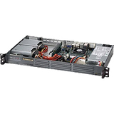Supermicro SuperServer 5017P-TLN4F 1U Rack Server - 1 x Intel Core i7 (3rd Gen) i7-3612QE Quad-core (4 Core) 2.10 GHz DDR3 SDRAM - Serial ATA/600 Controller - 0, 1, 5, 10 RAID ...(more)