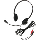 CALIFONE 3065AV LIGHTWEIGHT HEADSET MIC 3.5MM 6FT