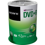 SONY DVD+R 4.7GB 16X 100PK REPLACES 100DPR47RS4