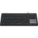 Solidtek Industrial Mini Keyboard with Touchpad on Right KB-IKB107