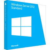 Microsoft Windows Server 2012 Standard 64-bit - License and Media - 2 Processor