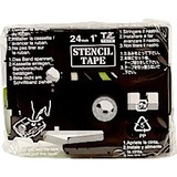 "Brother Stencil Tape - 9.80 ft Length x 0.94"" Width - 1 - Black"