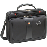 "Wenger Legacy Carrying Case for 16"" Notebook, Digital Audio Player, Key, Business Card, Wallet - Black"