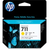HP HEWCZ136A 711 Yellow Ink Cartridges, Yellow