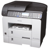 Ricoh Aficio SG 3100SNW GelSprinter Multifunction Printer - Color - Plain Paper Print - Desktop