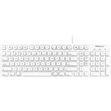 Macally 103 Key Full-Size USB Keyboard with Short-Cut Keys