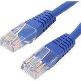 4XEM 50FT Cat6 Molded RJ45 UTP Ethernet Patch Cable (Blue)