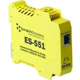 Brainboxes Isolated Industrial Ethernet to Serial 1xRS232/422/485
