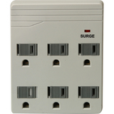 6-OUT SURGE PROTECTOR STRIP