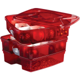 Homz 3-In-1 Holiday Storage Tote