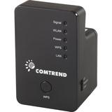 Comtrend WAP-5883 IEEE 802.11n 300 Mbit/s Wireless Range Extender - ISM Band