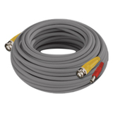 Night Owl 100 Feet 24AWG BNC Video/Power Camera Extension Cable with Adapter