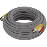 Night Owl 100 Feet 24AWG BNC Video/Power/Audio Camera Extension Cable with Adapter
