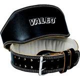 Valeo Leather Lifting Belt- Black