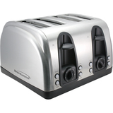 Brentwood 4 Slice Toaster Extra Funtions S/S