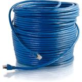 C2G 300 ft Cat6 Snagless Solid Shielded Network Patch Cable - Blue