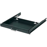 "Schneider Electric 17"" Keyboard Drawer Black - 17.4"" Width x 12"" Depth x 1.7"" Height - Black"