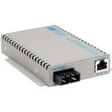 OmniConverter SE 10/100/1000 PoE Gigabit Ethernet Fiber Media Converter Switch RJ45 SC Multimode 550m